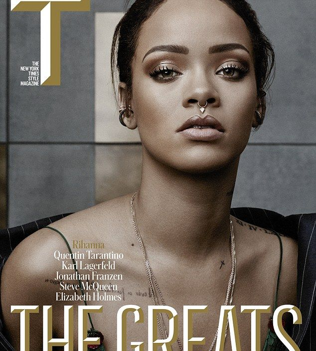 Not enough time in the day: Rihanna says she has no time for dating in an interview with New York Times Style Magazine