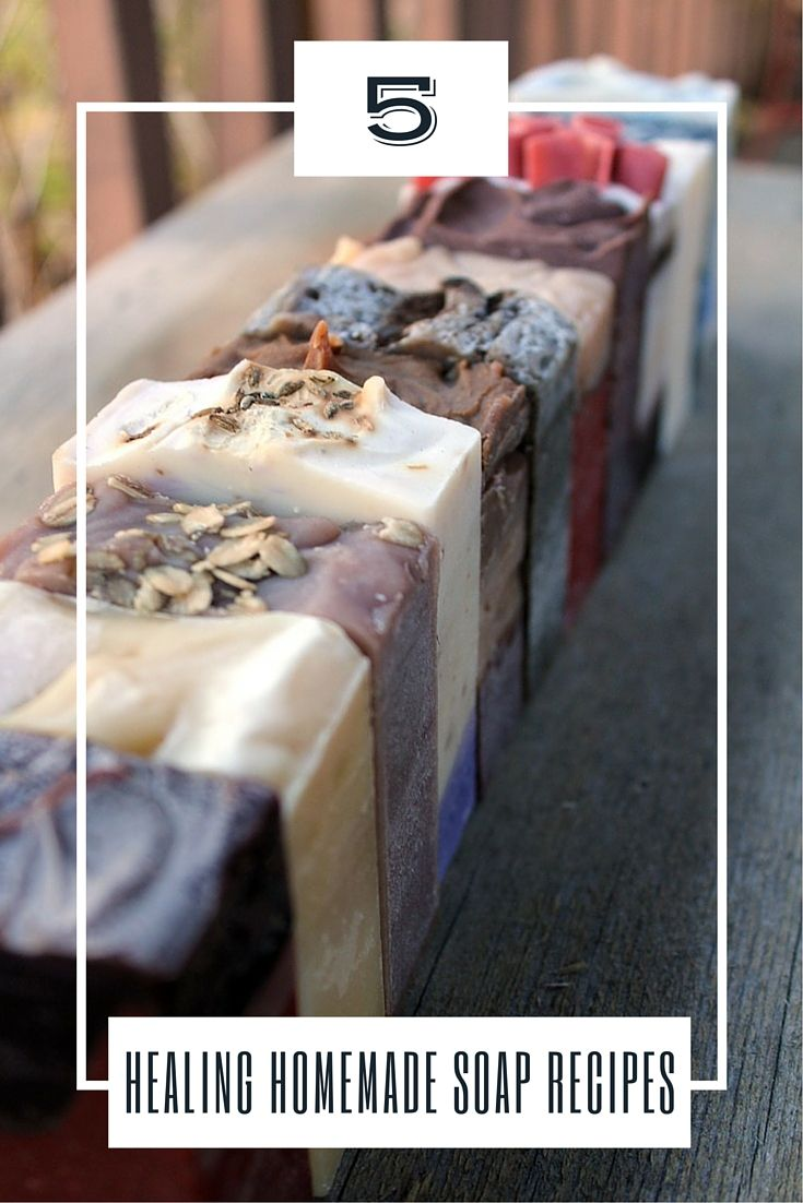 5 Healing Homemade Soap Recipes - You may think soap as simple cleaning agent for your body that help remove all the dirt and grime that your skin picks up after a long day at work, but there's actually a lot more to soaps than just that. Composed of the right ingredients, soaps can also have certain healing properties than improve health and well-being.
