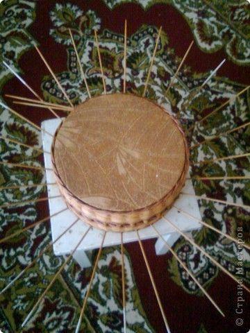 Мастер-класс Плетение мк крышки для плетенки Бумага газетная фото 6
