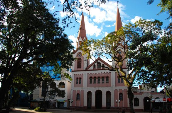 Main Cathedral in Posadas, Misiones, Argentina