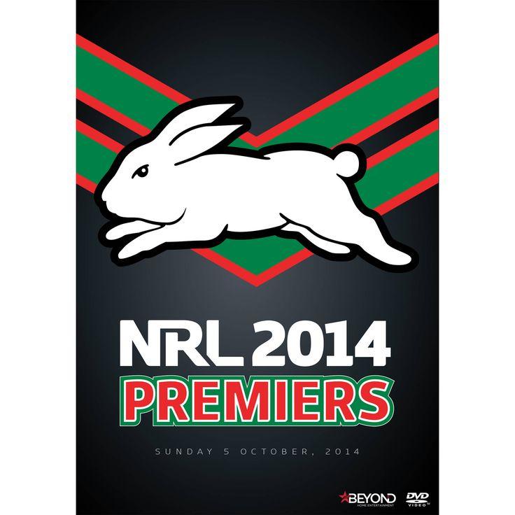 South Sydney Rabbitohs 2014 Premiers DVD ***PRE-SALE*** - NRL Megastore