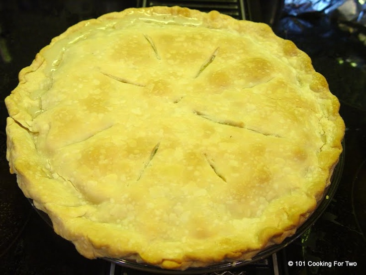 ... For Two - Everyday Recipes for Two: Simple Old Fashion Chicken Pot Pie