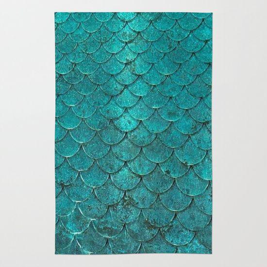 mermaid love Area & Throw Rug                                                                                                                                                                                 More