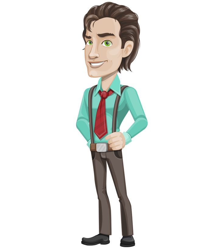 Cartoon Characters Male : Best images about free vector characters on pinterest