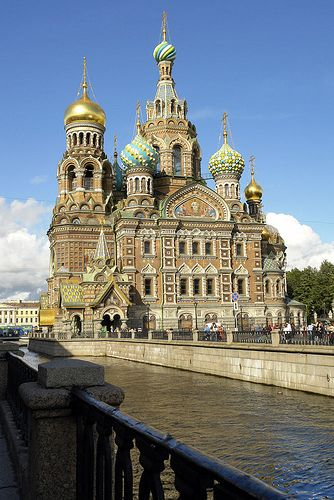 Church of the Savior on the Spilled Blood in St. Petersburg, Russia