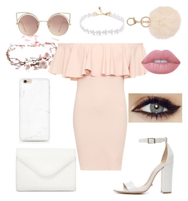"""""""Untitled #3"""" by ralucapopa-1 on Polyvore featuring WearAll, Schutz, Neiman Marcus, Armitage Avenue, Lime Crime and MANGO"""