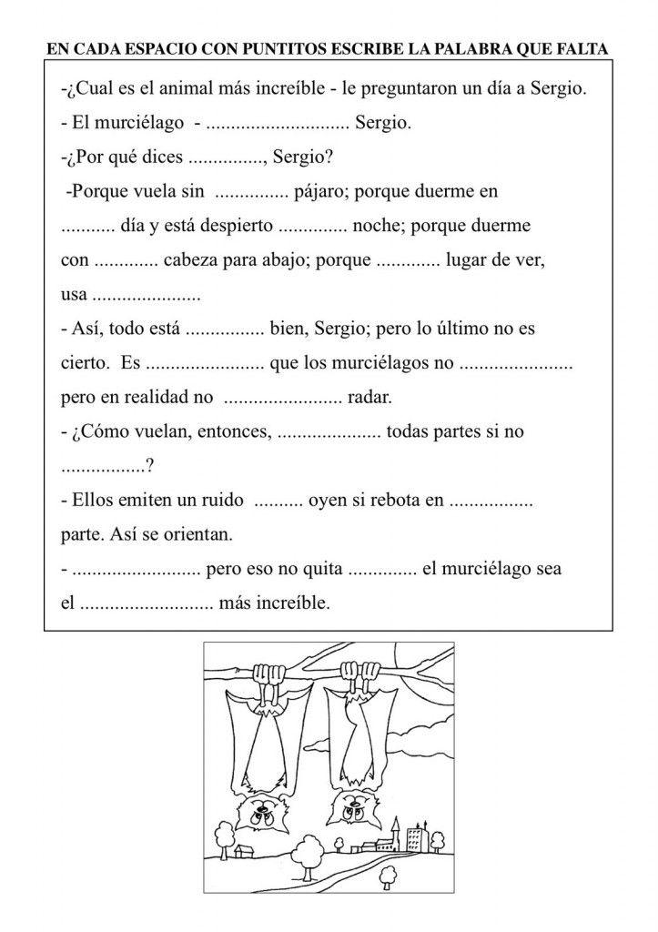Fichas Para Trabajar La Comprensión Lectora Comprensión Lectora Lectura De Comprensión Registros De Lectura