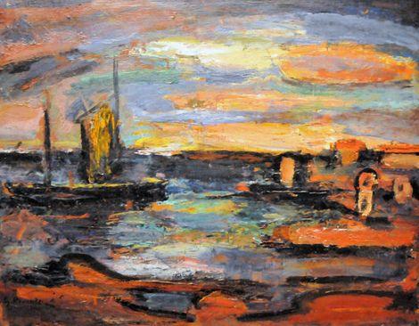 George Rouault, Afterglow, Galilee on ArtStack #george-rouault #art