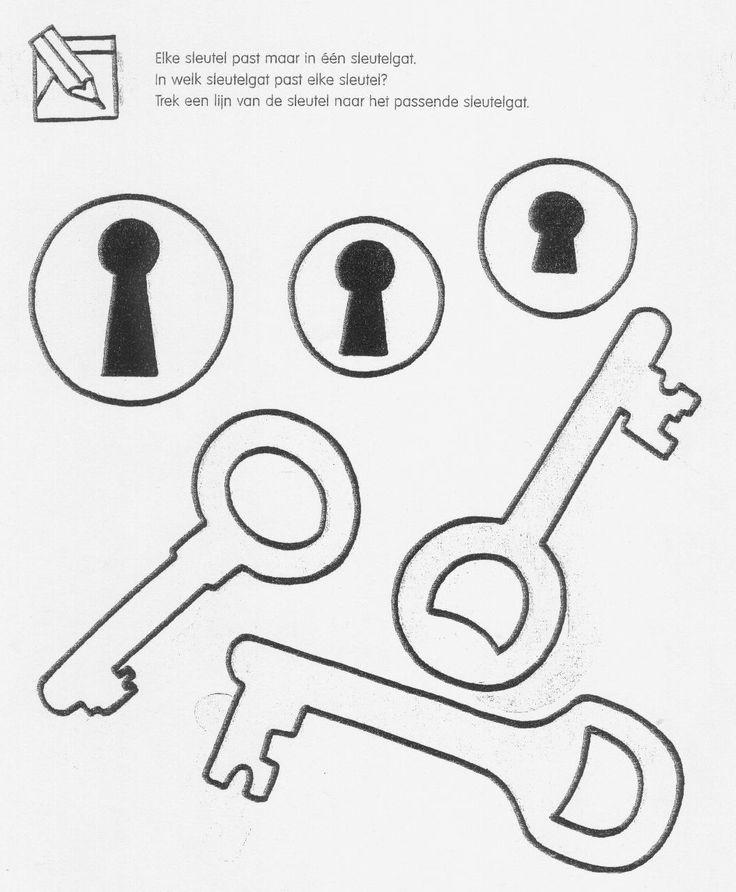 werkblad meten met sleutels - Google zoeken