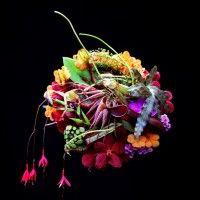 Eksoottinen morsiuskimppu | Runebergin Kukka