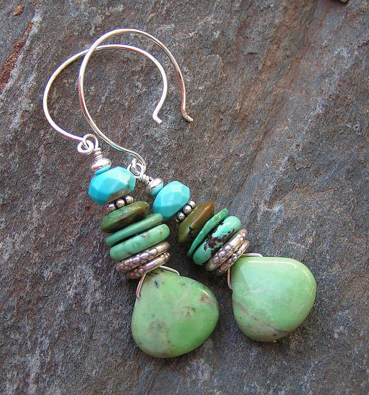 Jewelry Ideas, Diy Jewelry, Jewelry Making, Jewellery, Jewelry Box, Jewelry  Necklaces, Jewelry Design, Bracelets, Green Turquoise