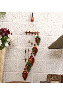 Terracotta Shankh Wind Chime