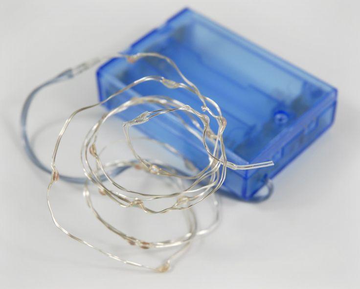 Waterproof LED String Lights Blue