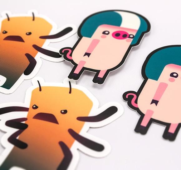 Scirra Stickers