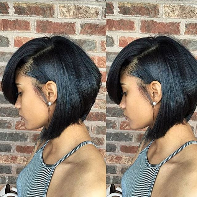 This #bob styled by #stlstylist @misschareeo1 is everything ❤️ Gorgeous cut ✂️ #voiceofhair
