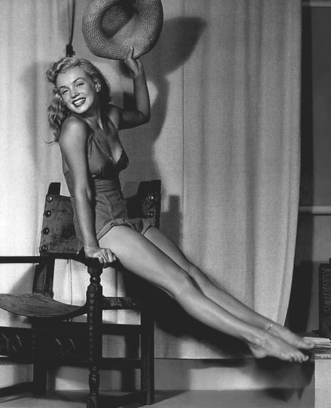 Marilyn Monroe = Absolutely Perfect!   Photo by: Earl Moran
