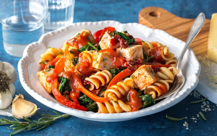 Active time: 10 minutes  Total time: 35 minutes Use your Instant Pot to put together this whole-grain pasta meal in just 35 minutes from start to finish. For best results, use small (6-ounce) boneless, skinless chicken breasts or cut large chicken breasts horizontally into thinner pieces.  Ivy is a cookbook author and food ...
