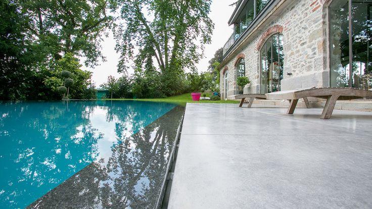 34 best piscines miroir images on pinterest architects building and construction. Black Bedroom Furniture Sets. Home Design Ideas