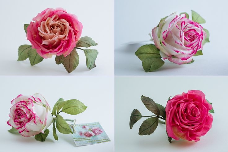 Шелковые цветы. Аксессуары для волос. от $40