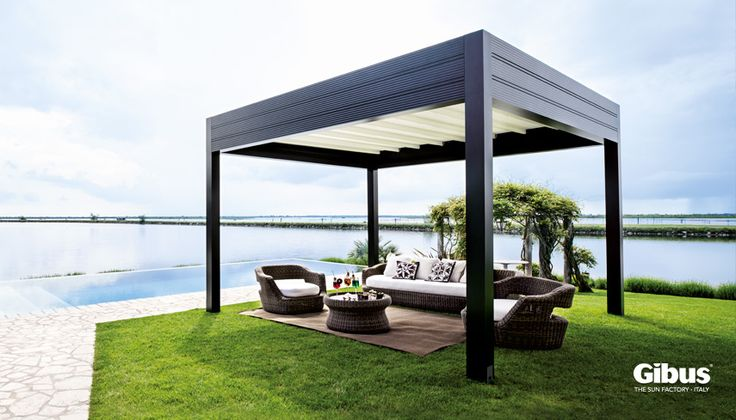 Med Room - Fabric retractable roof.