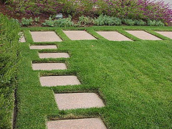 M s de 1000 ideas sobre senderos de jard nes de piedra en for Caminos de piedra en el jardin
