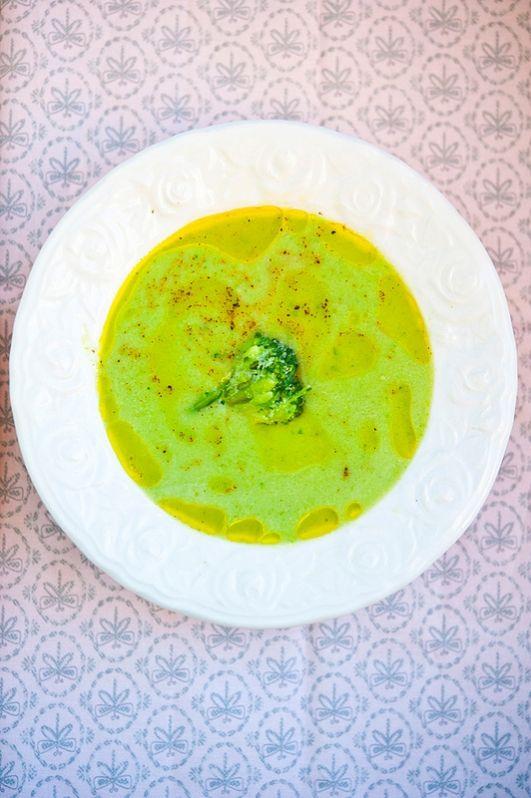 Крем-суп с брокколи и маскарпоне / Vellutata di broccoli e mascarpone | Элла Мартино Рецепты Кулинарные туры Итальянская кухня