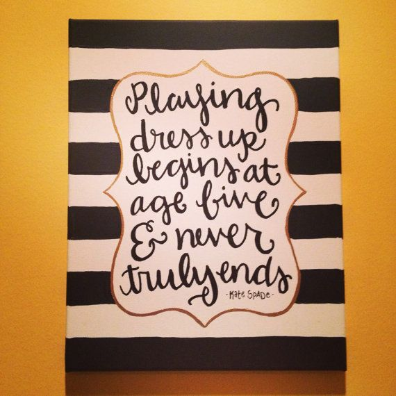 Kate Spade Canvas (i want for my room.)