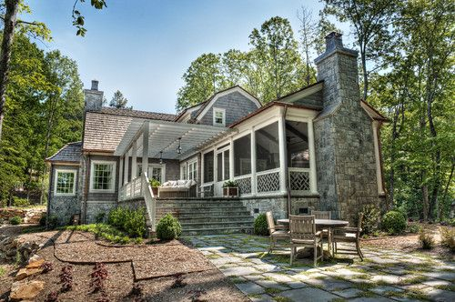 158 best cottage charm bungalow style images on pinterest for Cottage style homes greenville sc