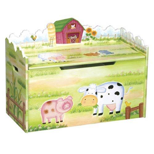 Baby Furniture  Bedding Little Farmhouse Toy Box