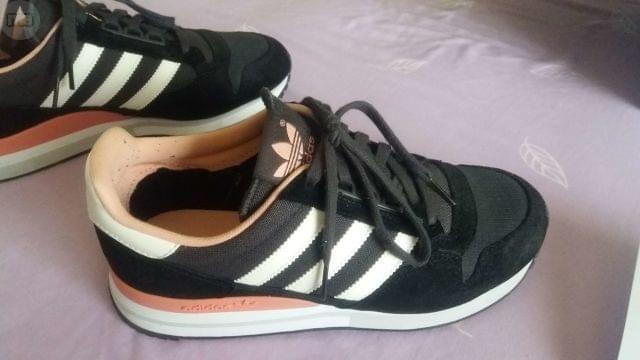 . Playeros Adidas ZX500 OG Negro n� 38,5 sin estrenar