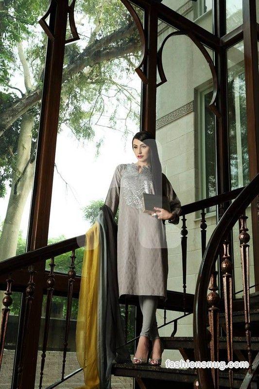 Top 10 Nishat Linen Eid Dresses 2015 In Stores