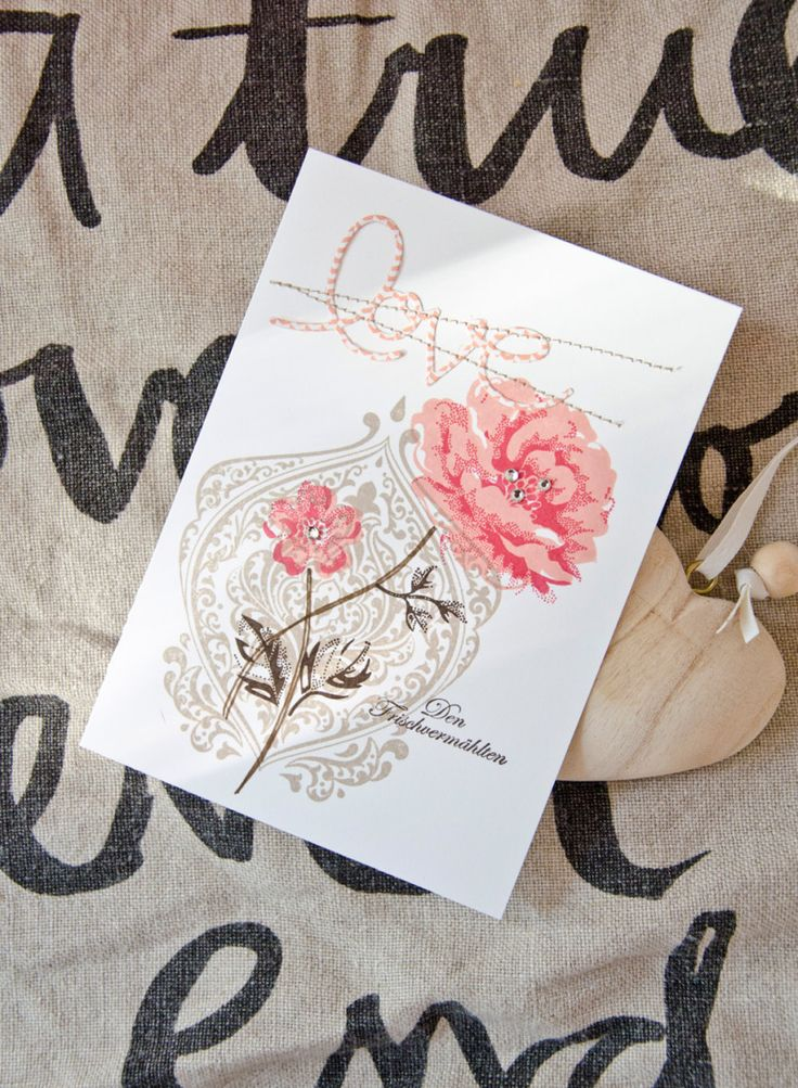 Love Thinlits Stampin' UP! | stippled blossoms, beautiful baroque, thinlits