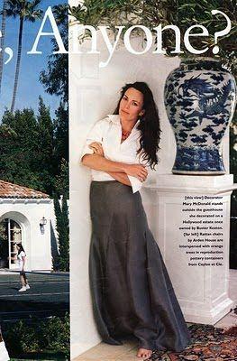 Loving long skirts !  >>>>lebelage<<<Gingers Jars, Blue, Mary Mcdonalds, Ginger Jars, Long Skirts, Spanish Style Homes, White Blouses, Design, Mary Macdonald