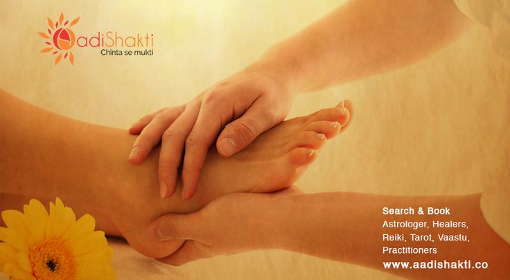 Reflexology helps to recognise and clear any kind of emotional issues www.aadishakti.co
