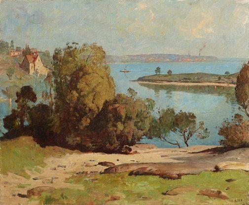 Spring sunshine - Lloyd Rees