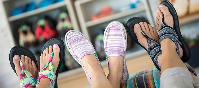 Szandálok jógamatracból. Komfort, divat és boldogság egy szandálba rejtve: Sanuk | Életszépítők