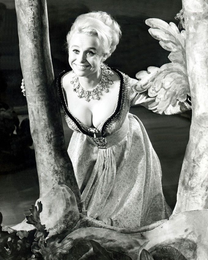 Barbara Windsor in Carry On Henry. 1971