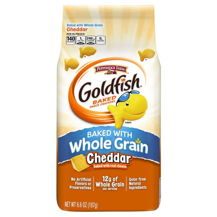 Pepperidge Farm Goldfish Whole Grain Cheddar - 6.6oz