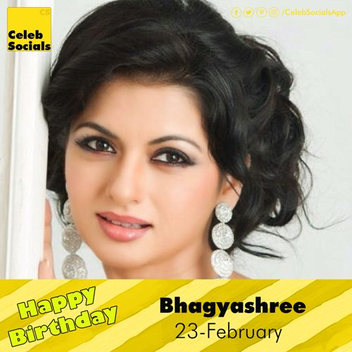 #CelebSocials wishes a Very #HappyBirthday to Bhagyashree #HBDTBhagyashree #BhagyashreeBirthday #BirthdayBhagyashree #Congrats #Bhagyashree Bhagyashree Patwardhan