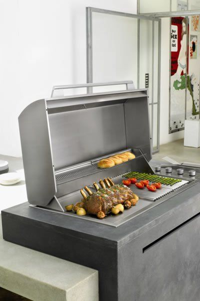Electrolux Integrated BBQ | Latest Trends in Home Appliances