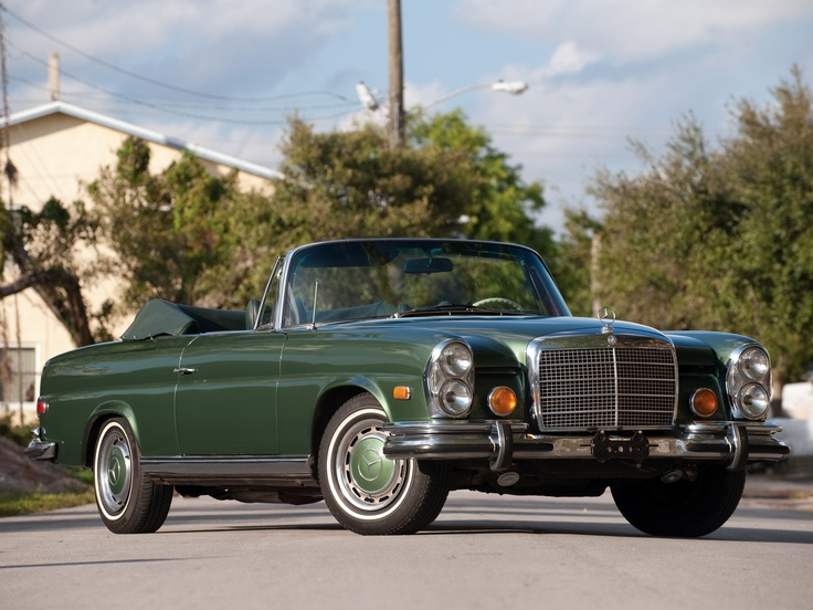 Mercedes benz 280se cabriolet w111 w112 1968 71 cars to for 1968 mercedes benz 280 se convertible