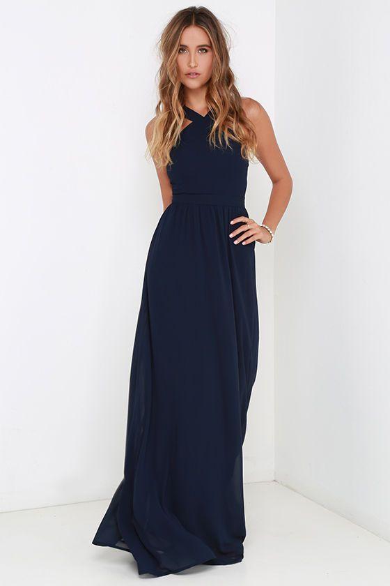 Best 25+ Navy bridesmaid dresses ideas on Pinterest - photo #32
