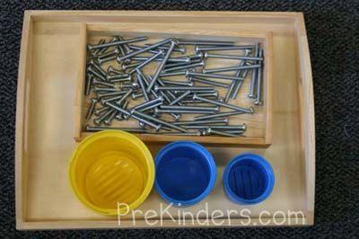 Preschool Sizes and Measurement Activities — PreKinders