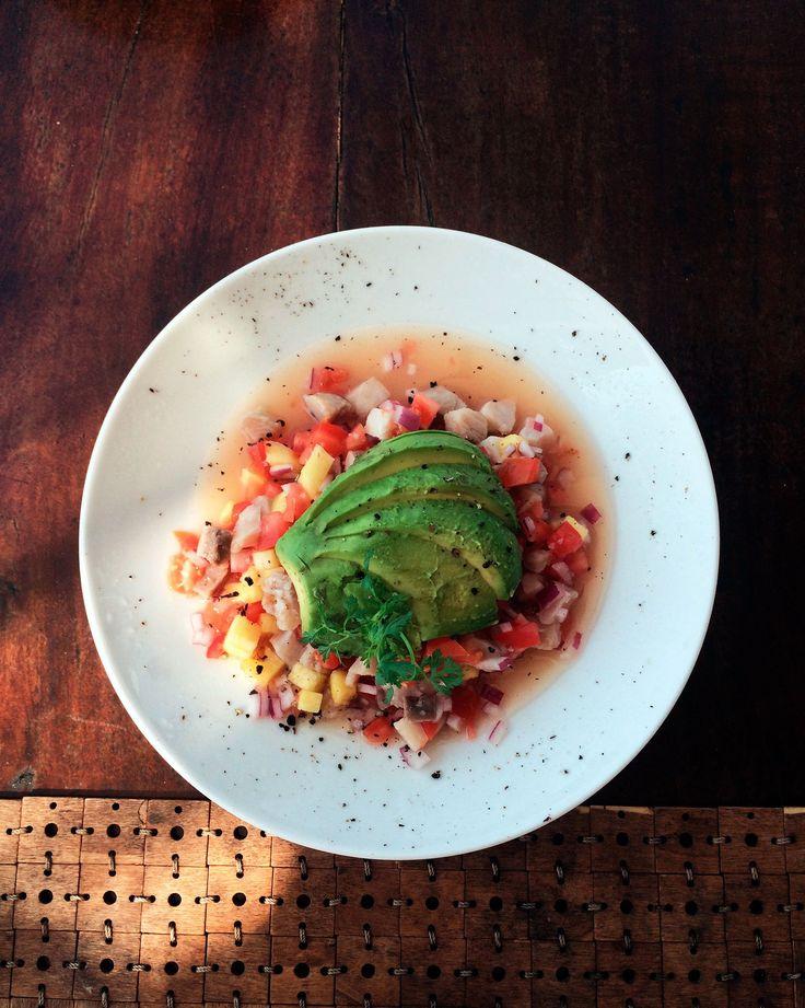Love this ceviche at Hotelito Mio | Feat. on Alexjumper.com