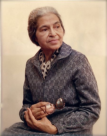 "'Rosa Parks was presented the first ""Eleanor Roosevelt Woman of Courage Award"" by the Wonder Woman Foundation on this date November 14, 1984.'    (photo: Rosa Parks)    - CARTER Magazine"