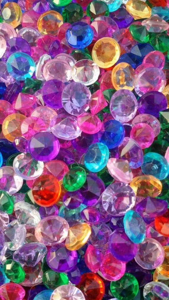 Back In Stock 50 Fairy Garden Treasure Gems Fairy Gems Treasure Chest Gems Fairy Jewels Fairy T Glitter Wallpaper Colorful Wallpaper Rainbow Wallpaper Awesome colorful wallpaper for iphone