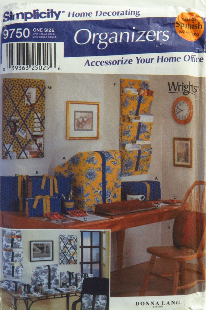 219 best Home Decorating Sewing Patterns images on Pinterest ...