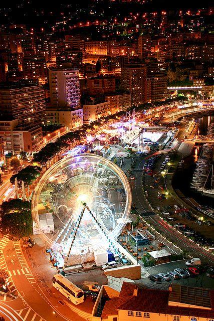 When Silver Spirit calls on Monte Carlo, Monaco, will I ride this ferris wheel?