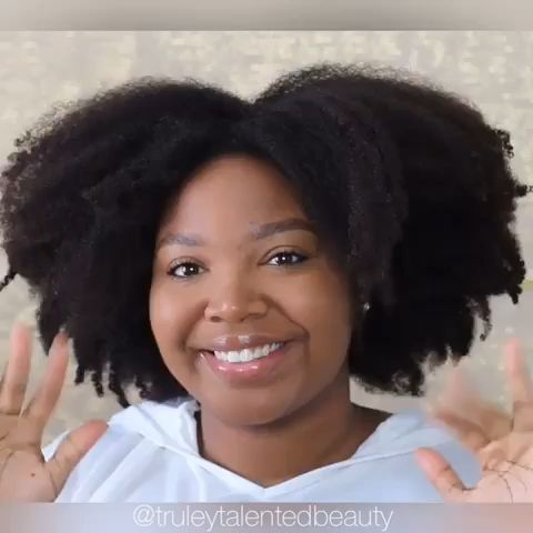 Have really thick hair? here's how to style your thick natural hair.