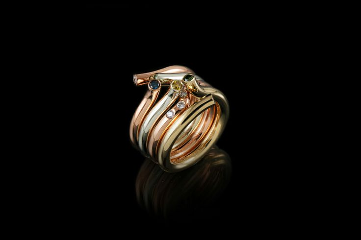 Embrace stackable Rings by Kristjan Eyjolfsson